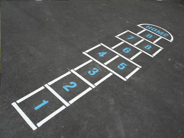 Road Marking Stencils Parkin Payne Ltd - Playground stencils